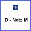 1 & 1 D-Netz M Allnet Flat Handytarif für das Vodafone Netz