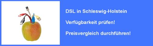 VDSL in Schleswig-Holstein  – Preisvergleich und Verfügbarkeit für Internet Anschluss prüfen