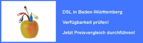 VDSL in Baden-Württemberg Verfügbarkeit prüfen und Preisvergleich durchführen