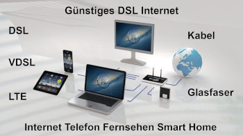 DSL Internet günstig buchen? Günstige Internetanbieter für Zuhause
