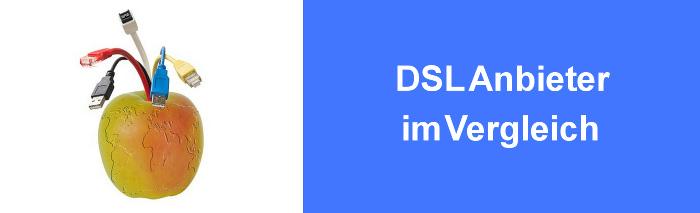 DSL Anbieter im Vergleich