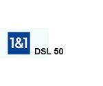 DSL 50 Tarif für den VDSL Anschluss von 1 & 1