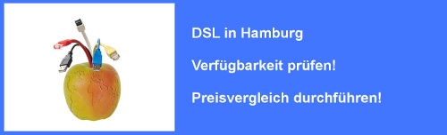 VDSL in Hamburg - Preisvergleich und Verfügbarkeit für Internet Anschluss prüfen