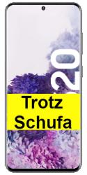 Samsung Galaxy S20, Samsung Galaxy S20 Plus oder Samsung Galaxy S20 Ultra 5G Smartphone trotz negativer Schufa