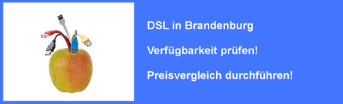 VDSL in Brandenburg  – Verfügbarkeit und Preisvergleich für Internet  Anschluss prüfen