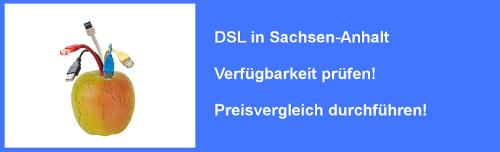 VDSL in Sachsen-Anhalt - Preisvergleich und Verfügbarkeit für Internet Anschluss prüfen