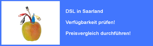 VDSL im Saarland  – Verfügbarkeit und Preisvergleich für Internet  Anschluss prüfen