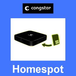Congstar Homespot für LTE Internet Anschluss