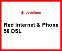Red Internet  & Phone DSL 50