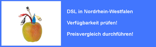 VDSL in Nordrhein-Westfalen  – Verfügbarkeit und Preisvergleich für Internet  Anschluss prüfen