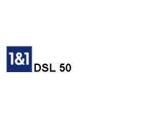 DSL 50 der VDSL Tarif von 1 &1 für den Internet Anschluss DSL 50000