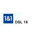 DSL 16 Tarif von 1 & 1 für den Internet Anschluss
