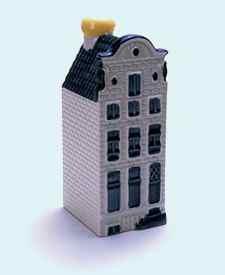 KLM miniatura número 60, Amsterdam, casa no identificada.