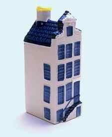 KLM miniatura número 46, Amsterdam, 27 Begijnhof, construida en el siglo 17.
