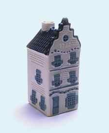 KLM miniatura número 3, Amsterdam, casa no identificada.
