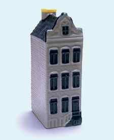 KLM miniatura número 58, Amsterdam, Herengracht 101, Construida en 1625 y reconstruida en 1871.