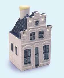 KLM miniatura número 76, Esta casa se presenta en la famosa pintura La pequeña calle por el pintor holandés Johannes Vermeer (1632 - 1675).