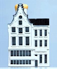KLM miniatura número 88, Lootsje en el Rozengracht de Amsterdam.