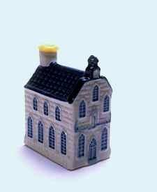 KLM miniatura número 7, Amsterdam, casa no identificada.