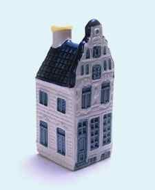 KLM miniatura número 10, Amsterdam, Herengracht 203.