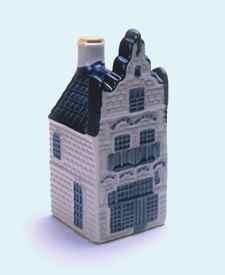 KLM miniatura número 20, Edam, Edam Damplein 8 El Museo, construida en 1550 y restaurada en 1895.