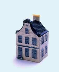 KLM miniatura número 5, Amsterdam, casa no identificada.