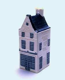 KLM miniatura número 8, Amsterdam, Prinsengracht 451.