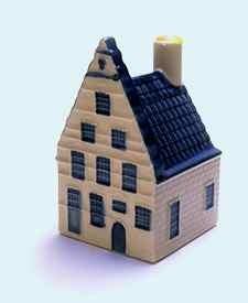 KLM miniatura número 35, Delft Oude Delft 39, Construida en 1631 y ampliada en 1722.