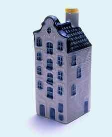 KLM miniatura número 33, Rotterdam, Voorhaven 12, Museo de Dubbelde Palmboom, Museo La doble palmera, construida en 1826.