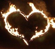 Feuerherz als romantisches Highlight!