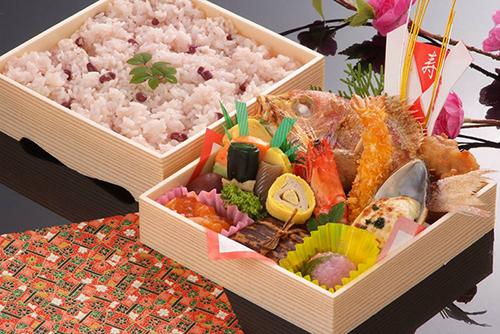 桜寿司 お祝い二段折
