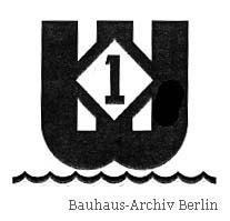 Friedrich Reimann: Piktogramm, um 1937. © Reimann Erben. Bauhaus-Archiv Berlin