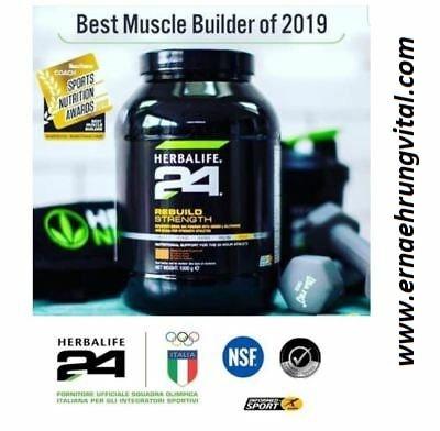 • Bioverfügbare Elektrolyte  • Wiederaufbau von Muskelmasse
