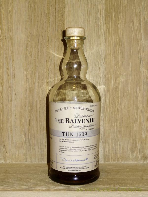 """The Balvenie """"Tun 1509"""", batch No. 05, 52,6 v% - 12.75 - Sherry Note, süss, voll, ausgewogen"""