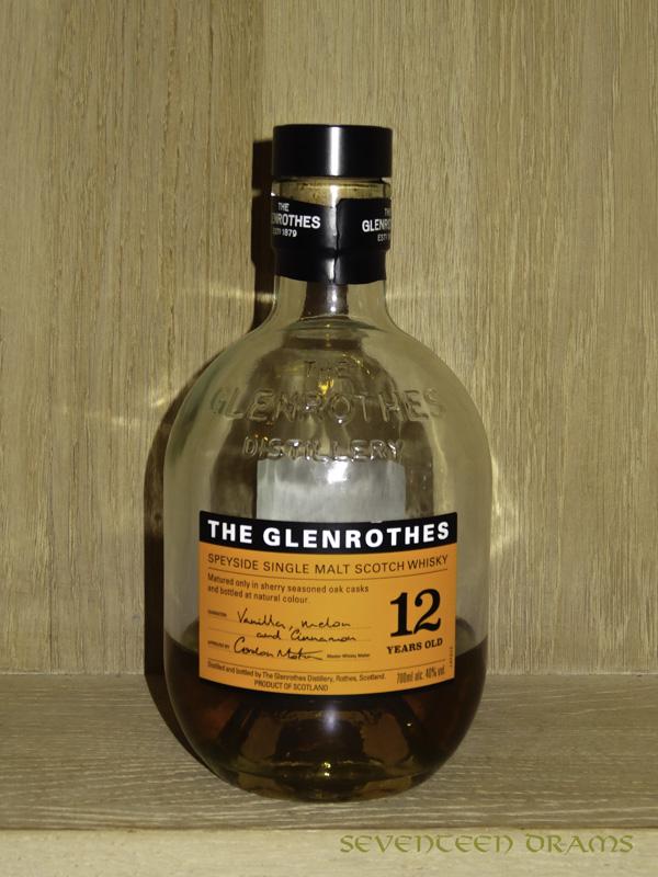 The Glenrothers 12 y, 40 v% - Punkte 10.75 - schöne neuer Glenrothes