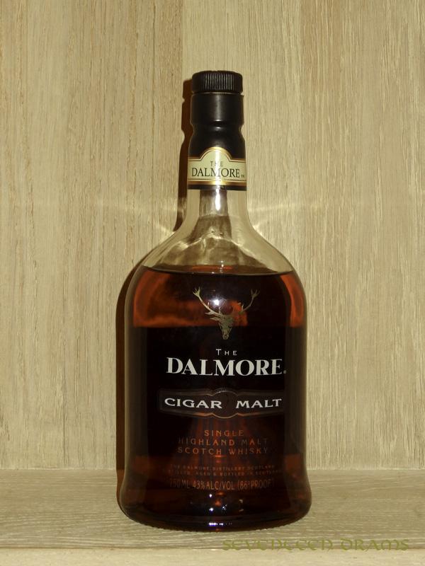 "Dalmore ""Cigar Malt"", 43 v% - 12.50 - animalisch, kräftig mit MaggiWürze, Kartonnote im Abgang"
