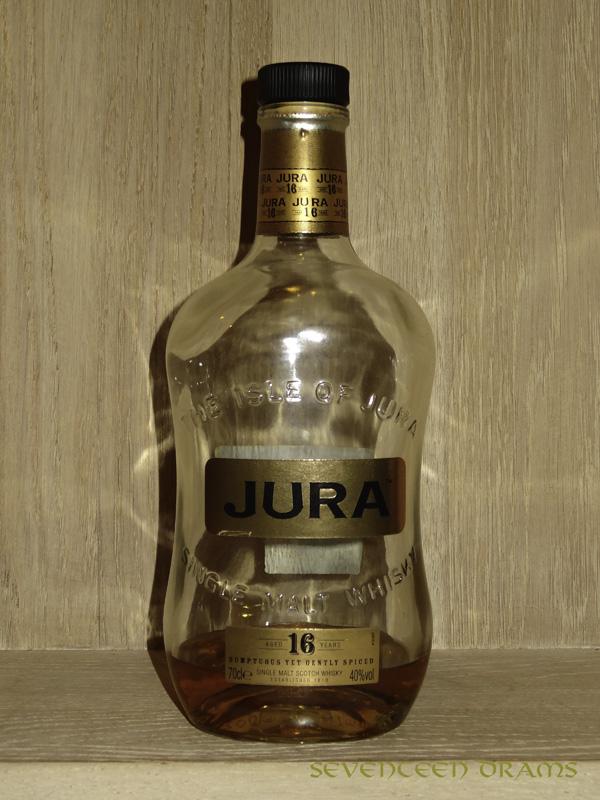 Isle of Jura 16 y, 40 v% - Punkte 10.00 - Dieser Whisky hat sich leider verabschiedet