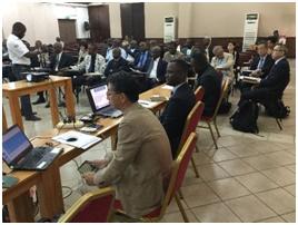 半年毎に開催される合同調整委員会(JCC)の開催。JCCでは、活動・成果の進捗報告、課題等を共有し、実績の承認を行う。