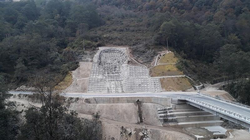 ブータン国 国道4号線橋梁架け替え完工について