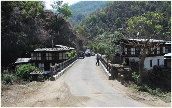 現在のチュゾムサ橋