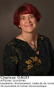 Clarisse GALET -  Commission Affaires scolaires