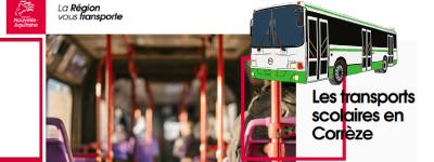 Transport scolaire en corrèze