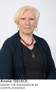 Annie DELSOL - Commissions Social Vie associative et Communication