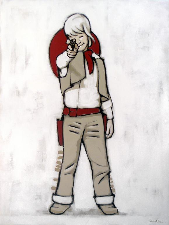 cowboy | jul 04 | 140 x 120 cm