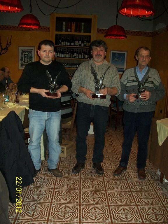 PODIO CAMPIONATO GENERALE 2011