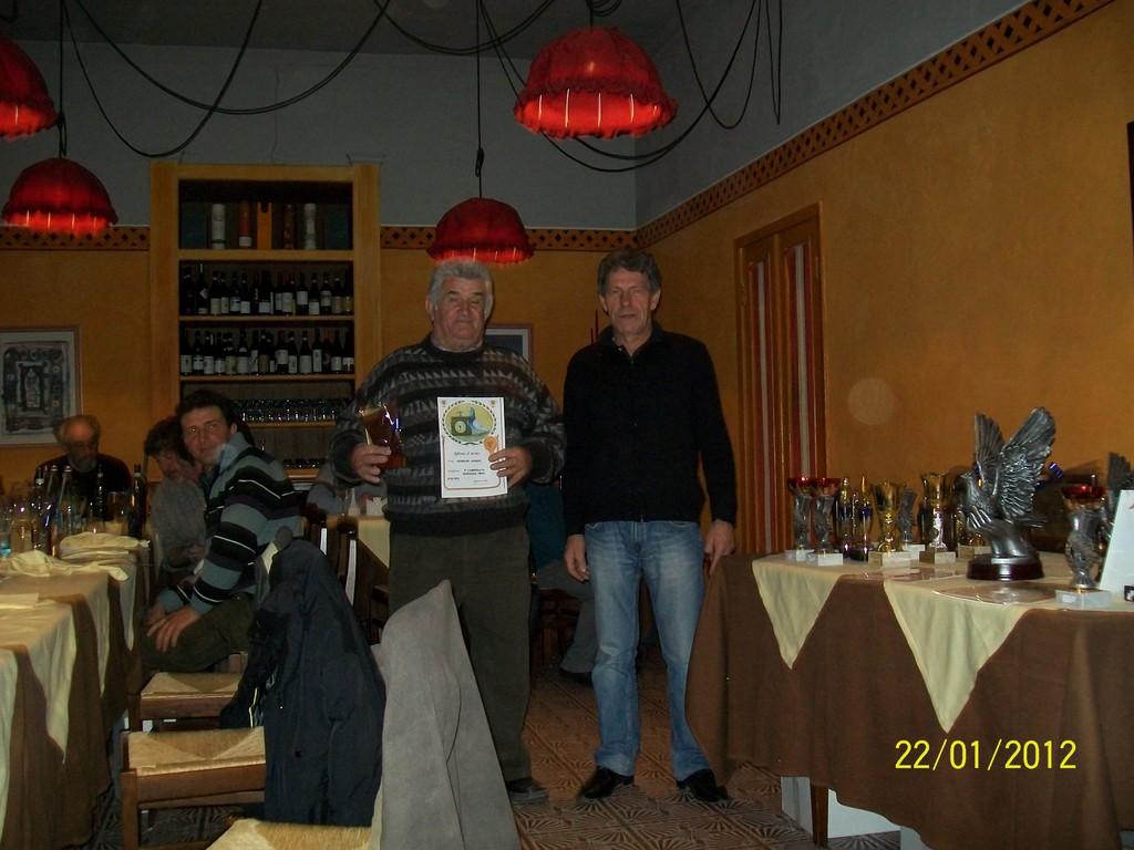 GIUSIANO ADOLFO  8' CAMPIONATO GENERALE