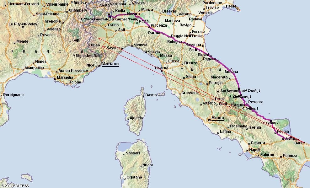 GARA DA BARI-NORD FONDO-MARATONA DEL 02-07-2011