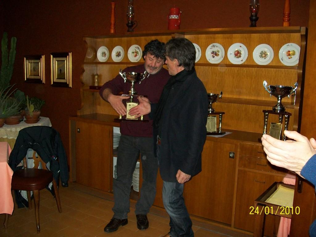 presidente premia martini marco 1' anello oro-argento maschi 1' anello oro-argento femmine