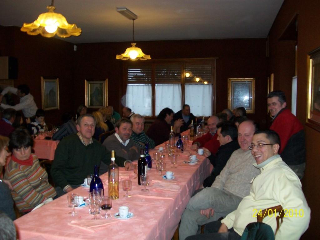 festa 2009 al tavolo