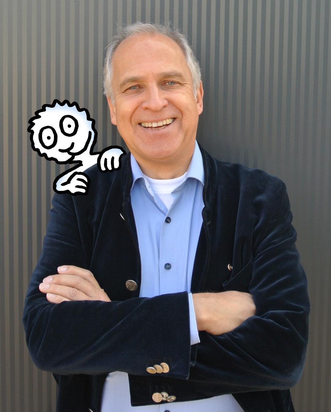 Highlight für Ihren Event: Werner Tiki Küstenmacher, Bestsellerautor, Karikaturist, Publizist, Redner